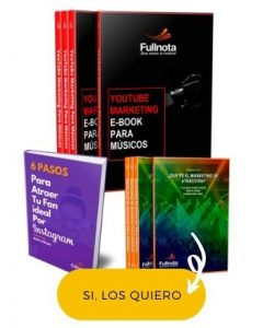 Pack de E-Bpooks de marketing para musicos